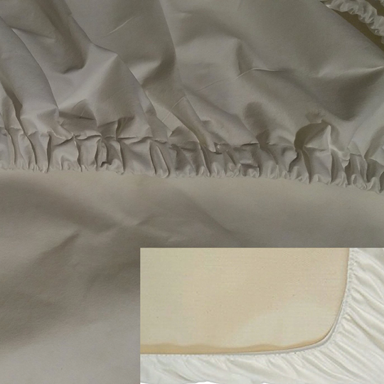 Anti-dust mite mattress cover with elastic band