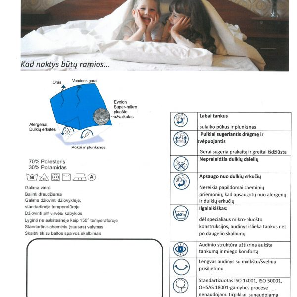 Anti-dust mite duvet cover